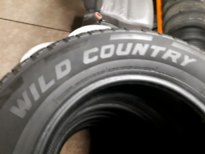 4 tires 225/60/17 wild country