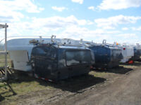 Service Bodies Spacekaps Morys Toppers Canopies USED Red Deer Alberta Preview