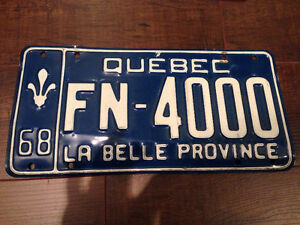 License Plate - PLAQUE D'IMMATRICULATION West Island Greater Montréal image 2