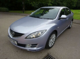 2008 08 Mazda 6 2.0 TS2 Petrol Hatchback Manual In Silver