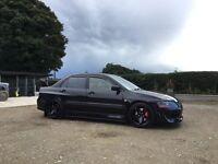 02 Mitsubishi Evo 7 rs2 fq300 ralliart not Subaru dc5 skyline m3