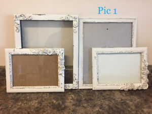 Picture frames and home decor