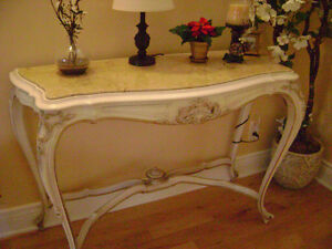 LOUIS XV Marble Top Tables Set ( FULL SET - VERY RARE)