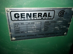 general international table saw