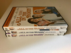 All In The Family Seasons 2-3-4 Boxsets