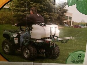 25 Gal. boom sprayer