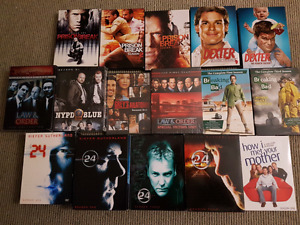 DVD box sets of several classic tv series