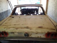 Parting out 1967 Mustang Classic