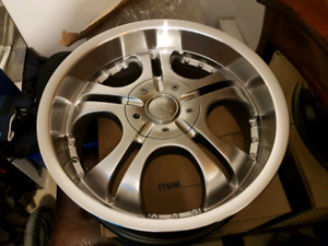 18 inch 4x100 or 4x114.3 brand new rims
