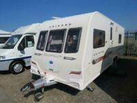 Bailey Unicorn Barcelona Twin Axle Fixed Bed 4 Berth