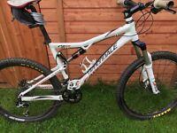 Cannondale RZ120 full suspension bike