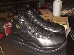 Air Jordan 10 NYC DS size 11