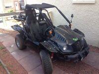 09 plate XT 250GK-7 racer (quad) road legal buggy needs mot