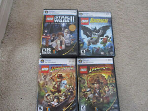 Lego PC games set of four