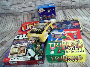Lots 6 Puzzle and board games $10 all