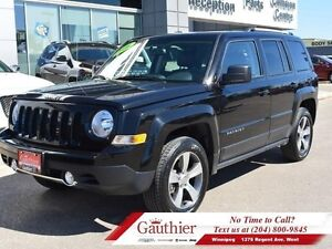 2016 Jeep Patriot High Altitude 4x4 w/Leather  Sunroof