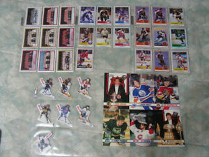 Assorted Kraft Hockey Cards