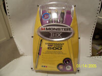 Brand New 8-Ft Monster 500 THX Certified Component Video Cable