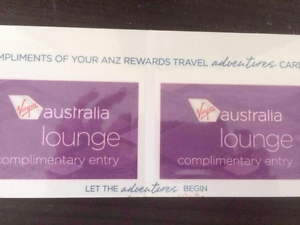 Virgin australia lounge domestic 2x pass Sydney City Inner Sydney Preview