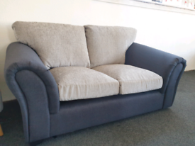 NEW Grey Quartz 2 Seater Sofa DELIVERY AVAILABLE