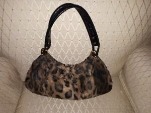 small leopard bag