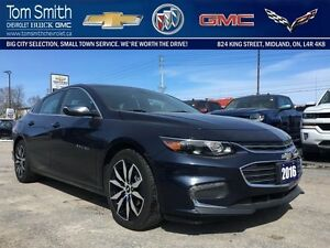 2016 Chevrolet Malibu LT   - Certified - BLUETOOTH -  DOUBLE SUN