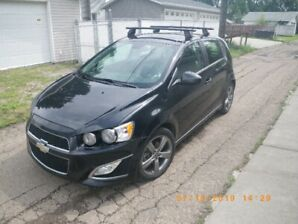 2013 Chevrolet Sonic RS Hatchback wiith Sunroof