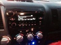 Toyota Tundra OEM Radio with CD player