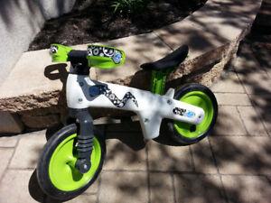 vélo sans pédale mamma cangura payer 125$ chez Benjo