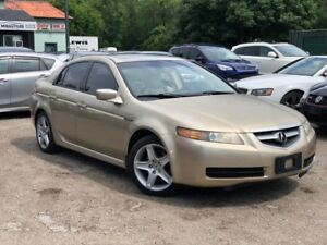 2004 Acura TL No Accidents LOW KMS Leather Sunroof