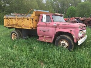 1966 GMC 3 1/2 ton  Dump Truck