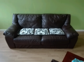 For sale a brown sofa in good condition