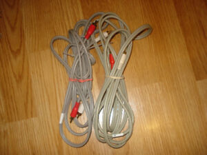Audio cables / cords