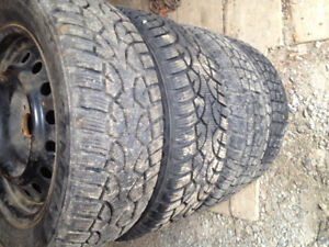 205/55r16 Toyota Corolla Winter Tires and Rims