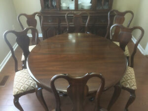 Solid Cherry Gibbard Furniture Dining Suite