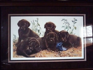 """Hand Signed Lithograph by Amy Brackenbury """"Chocolate Cluster"""" Stratford Kitchener Area image 1"""