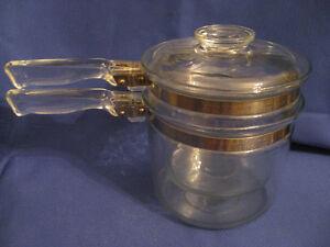 Vintage Pyrex Double Boiler 1960's