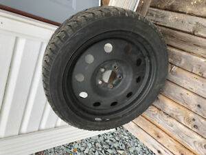 Set of Toyo Observe G3-Ice Tires with Rims