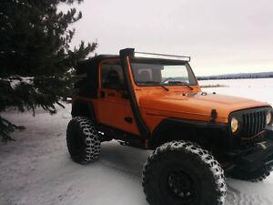 jeep refais pientur neuve  a qui la chance  9200$ nego Saguenay Saguenay-Lac-Saint-Jean image 6
