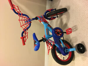 Kids bike. Spider man-50$