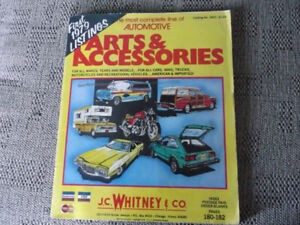 """Automotive Parts and Accessories""-J.C. Whitney& Co. Book"