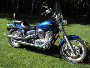 "HONDA SHADOW 1100 TAX INC""(((( IMPECCABLE)))))) AUBAINE"