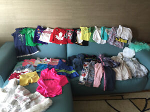 Toddler girl's  size 2 clothing ~ $60 for all!
