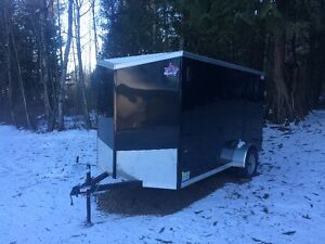 6x12 enclosed utility trailer