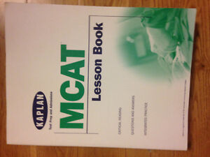 6 MCAT books(2004) -$30for 6 or acceptable offer