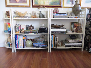BOOKCASES, white, from PIER1 IMPORT