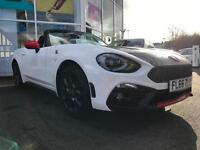 2016 Abarth 124 Spider 1.4 Turbo Multiair 170hp Manual