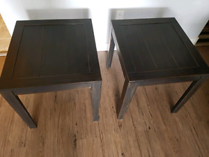 Two end tables EUC