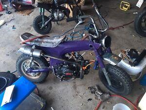 1972 Honda CT70 K1 125 swapped trade