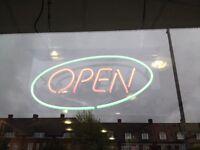 Neon Open Sign £50